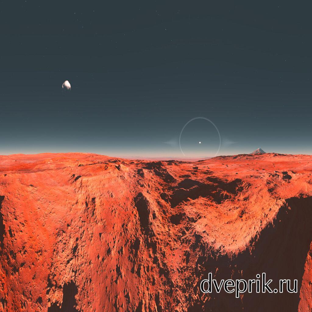 Марсианская панорама